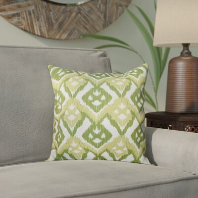 Meetinghouse Hipster Throw Pillow Size: 26 H x 26 W, Color: Green