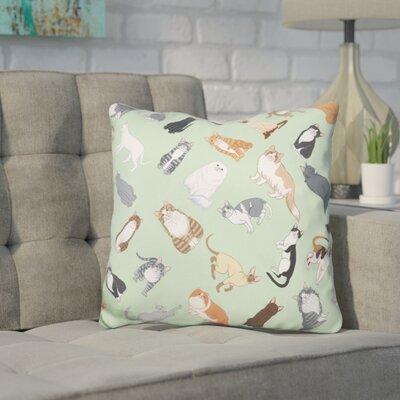 Core Cat Throw Pillow