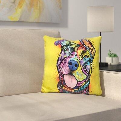 Rescue Dog Throw Pillow