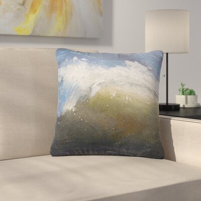 Carol Schiff the Curl Painting Outdoor Throw Pillow Size: 18 H x 18 W x 5 D