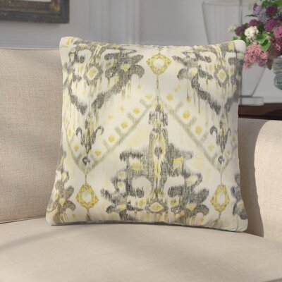 Geremia Ikat Linen Throw Pillow