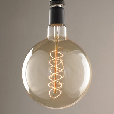 40W Orange E26 Incandescent Edison Specialty Light Bulb
