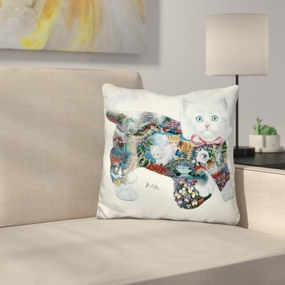 Kitten Tales Throw Pillow