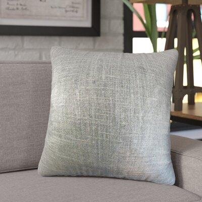 Singh Solid Linen Throw Pillow Color: Coal