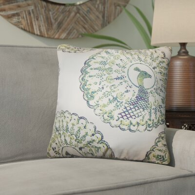 Aahil Animal Print Cotton Throw Pillow Color: Cactus