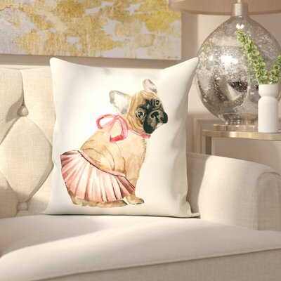 Cline Tutus and Bows Throw Pillow
