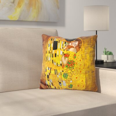 Doty The Kiss Throw Pillow