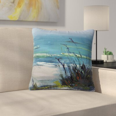 Carol Schiff Sanibel Painting Outdoor Throw Pillow Size: 16 H x 16 W x 5 D