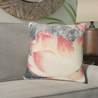 Louvre Chinese Water Lily Flower Throw Pillow