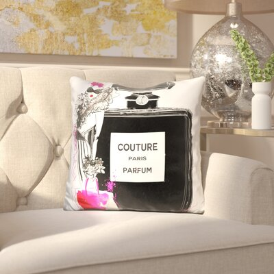 Blessen Couture Perfume Throw Pillow