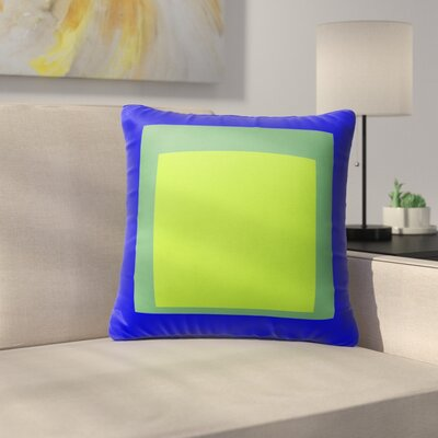 Balog Blue/Green Indoor/Outdoor Pillow