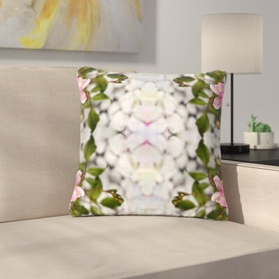 Pia Schneider Roses l Outdoor Throw Pillow Size: 16 H x 16 W x 5 D