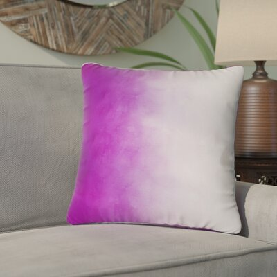Ashford Printed Throw Pillow Size: 16 H x 16 W x 4 D, Color: Pink