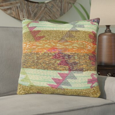 Chames Throw Pillow Size: 30 H x 30 W x 5 D, Type/Fill: Pillow With Polyester Insert
