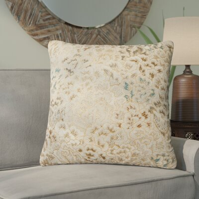 Dillow Cotton Throw Pillow Type: Pillow, Fill Material: Down/Feather