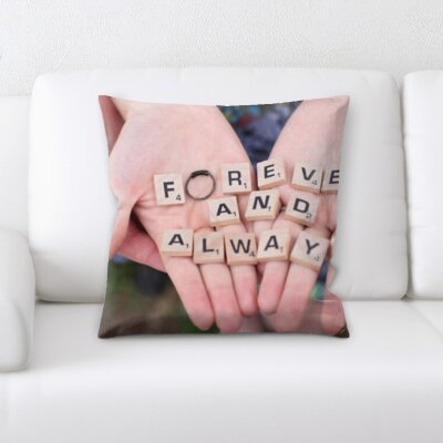 Binette Forever and Always Throw Pillow