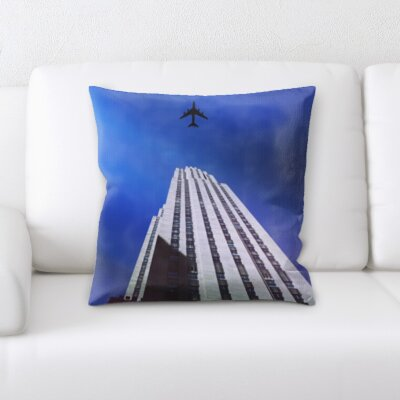 Bouton City of New York Throw Pillow