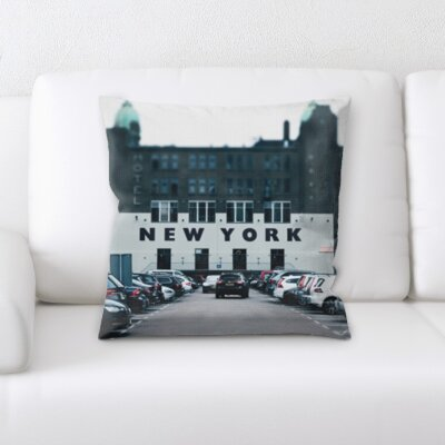 Boutte City of New York Throw Pillow