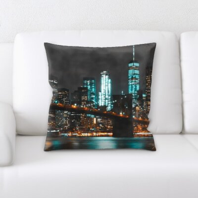Goshorn City of New York Throw Pillow