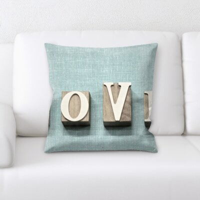 Blough Love Throw Pillow