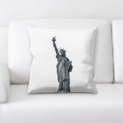 Brainerd Statue of Liberty Throw Pillow
