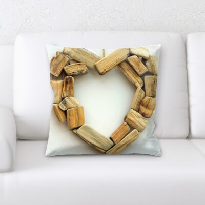 Bontang Love and Heart Shapes Throw Pillow