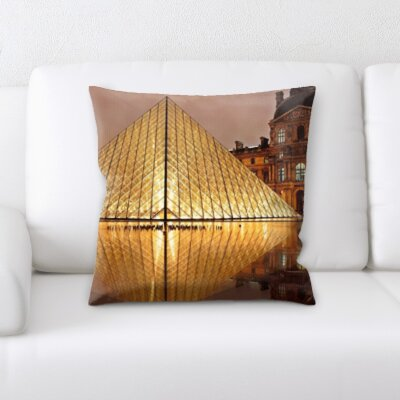 Breault City of Paris Throw Pillow