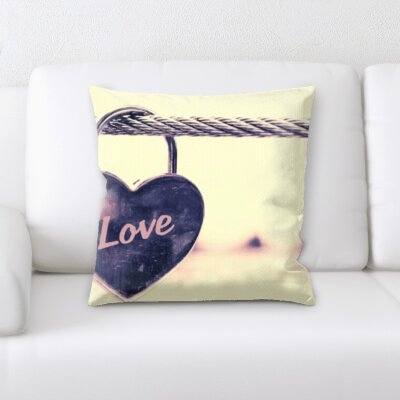 Boomer Love and Heart Shapes Throw Pillow
