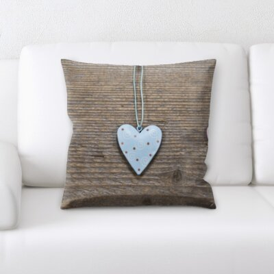 Boothby Love and Heart Shapes Throw Pillow
