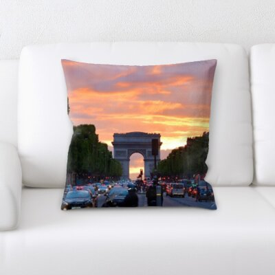 Bridgewater City of Paris Throw Pillow