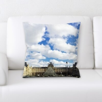 Brough City of Paris Throw Pillow