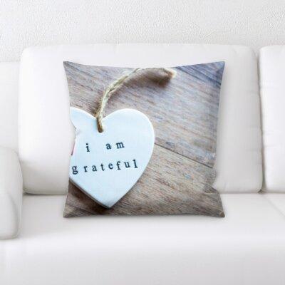 Borchert Love and Heart Shapes Throw Pillow