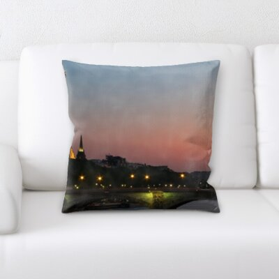 Brouillette City of Paris Throw Pillow