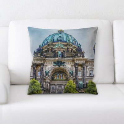 Riney City of Paris Throw Pillow