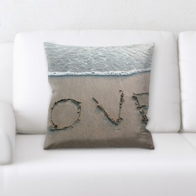 Borquez Love By The Ocean Throw Pillow