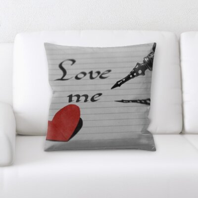 Bothwell Love Me Throw Pillow
