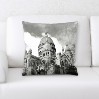 Broxton City of Paris Throw Pillow