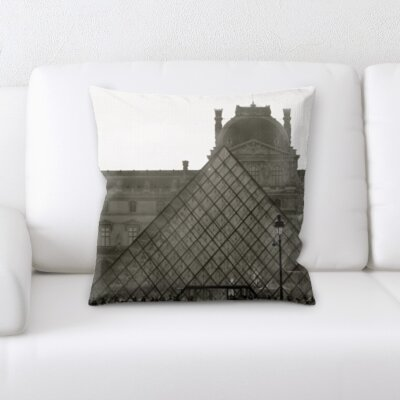 Brucker City of Paris Throw Pillow