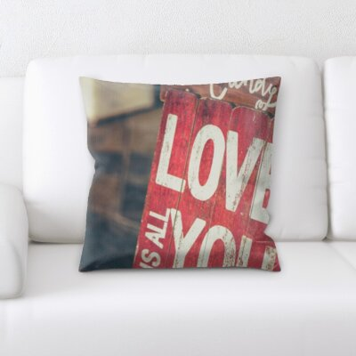 Bottorff Love You Throw Pillow