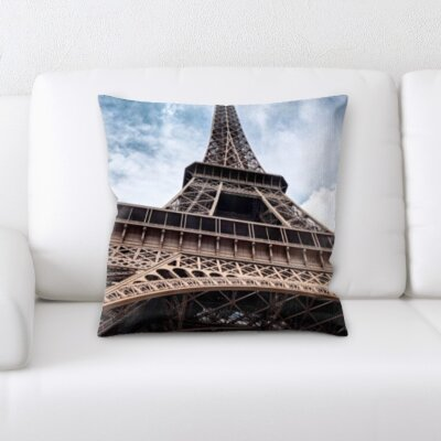Bruckner Eiffle Tower Throw Pillow