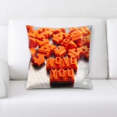 Boudreaux Love You Throw Pillow