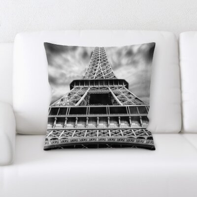 Bruening Eiffle Tower Throw Pillow
