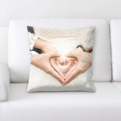 Bouknight Wedding Love Throw Pillow