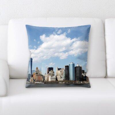 Bouldin City of New York Throw Pillow