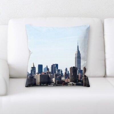 Bouldin Creek City of New York Throw Pillow