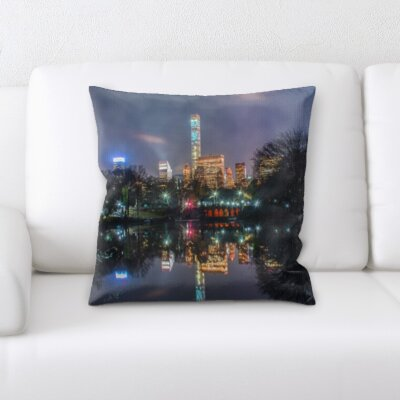 Bouley City of New York Throw Pillow
