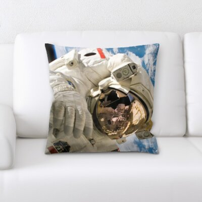 Brummitt Astronaut Throw Pillow