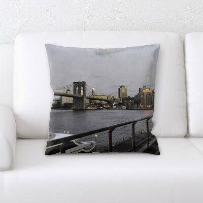 Boulton City of New York Throw Pillow