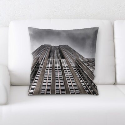 Gorrell City of New York Throw Pillow