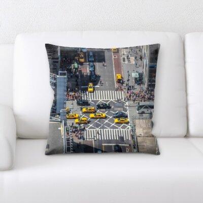Bourdon City of New York Throw Pillow